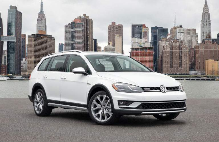 2018 Golf Alltrack offers better off-road capability than others in the Golf Family