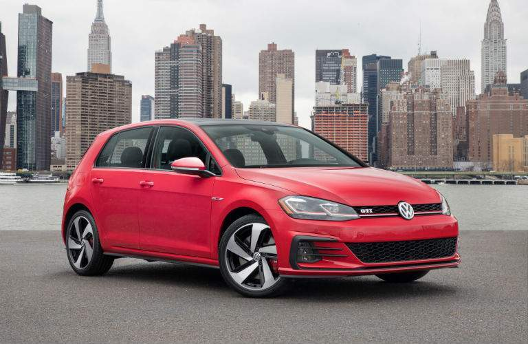 The 2018 VW Golf GTI is one of the quickest hatchbacks in their class