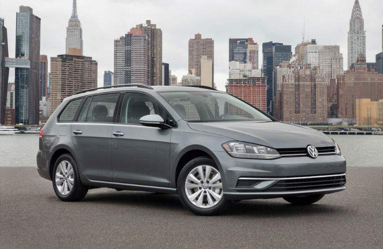 Families will love the space and features of the 2018 Golf SportWagen