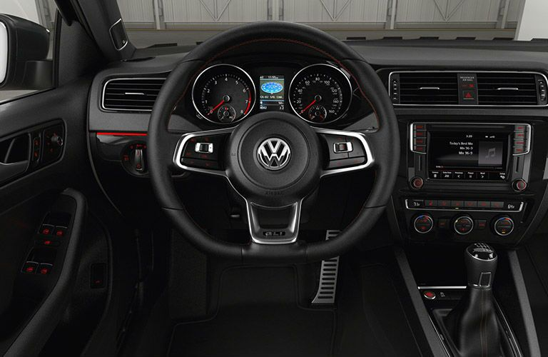 VW Golf GTI Dashboard