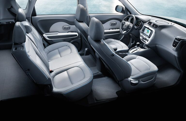 2016 Kia Soul EV interior cabin