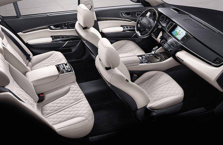 2017 Kia K900 Interior Cabin
