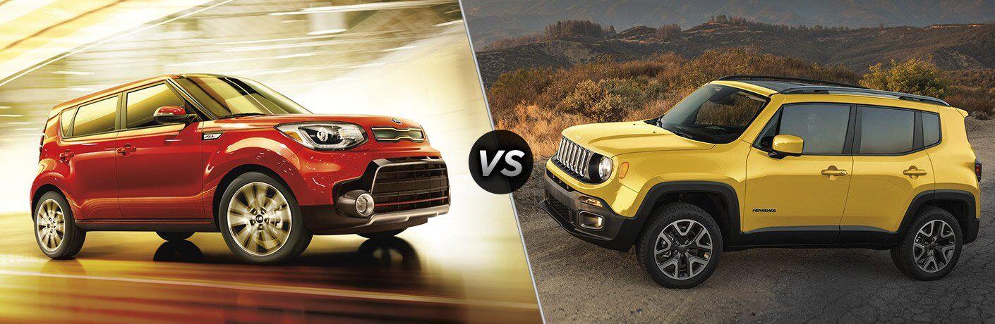 2017 Kia Soul vs 2017 Jeep Renegade