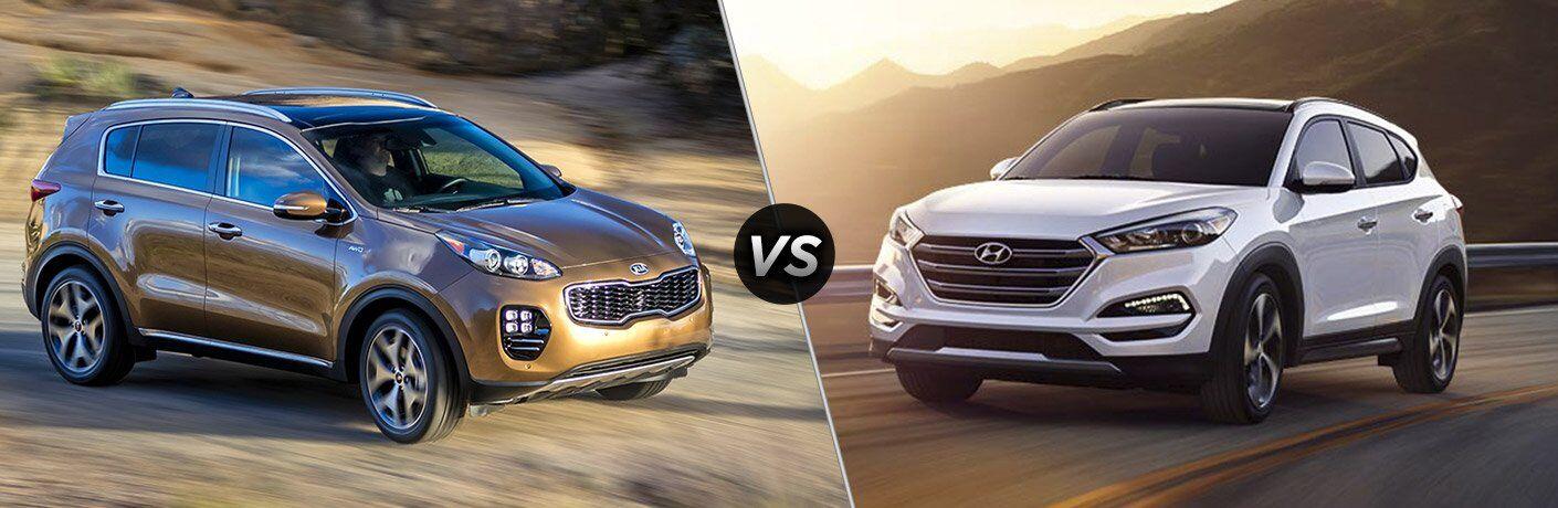 2017 Kia Sportage vs 2017 Hyundai Tucson