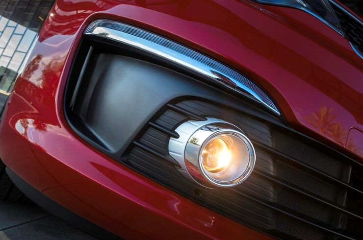 2017 Kia Rio closeup headlight