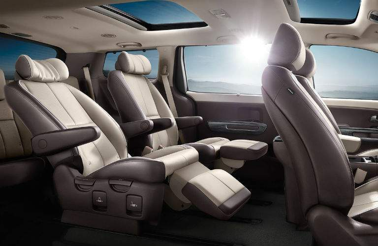 2018 Kia Sedona Interior Cabin Seating