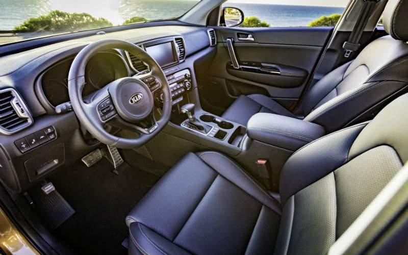 2018 Kia Sportage Interior Cabin Front