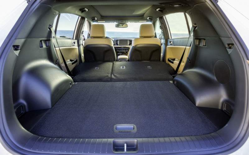 2018 Kia Sportage Interior Cabin Rear