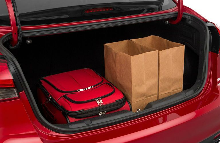 2018 Kia Forte Interior Trunk Area Filled