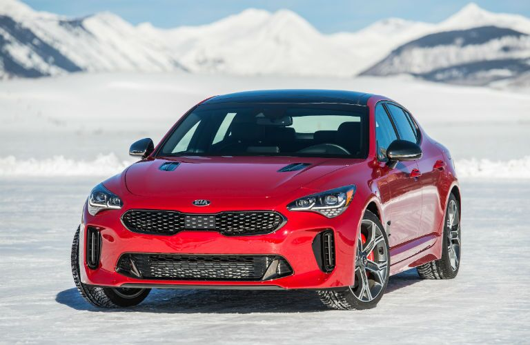 2018 Kia Stinger Exterior Driver Side Front