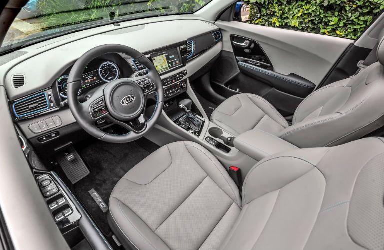 2019 Kia Niro Interior Cabin Front Seating & Dashboard