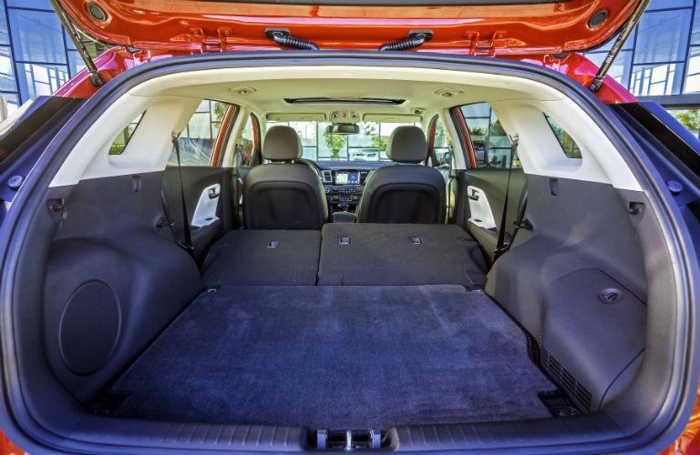2019 Kia Niro Interior Cabin Cargo Area Seats Flat