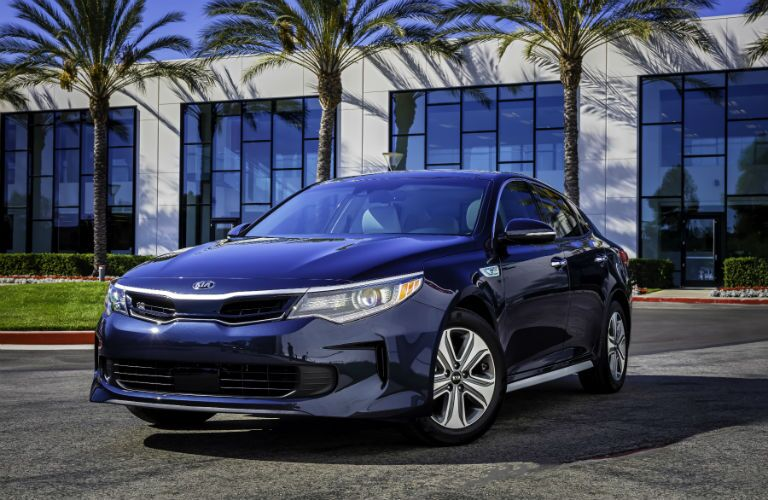 2019 Kia Optima Hybrid exterior profile