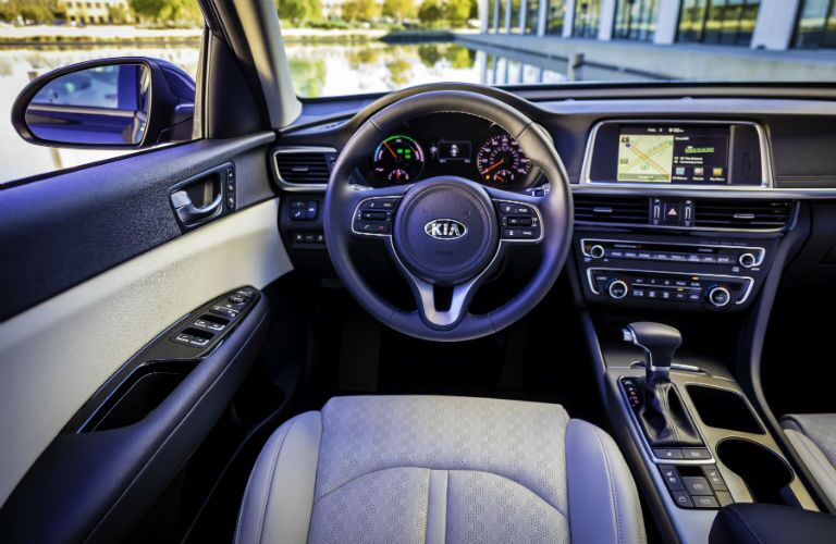 2019 Kia Optima Hybrid Interior Cabin Dashboard