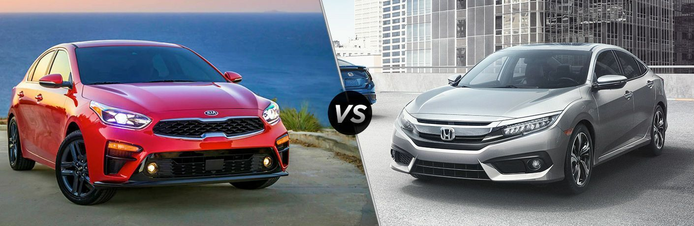2019 Kia Forte vs 2019 Honda Civic