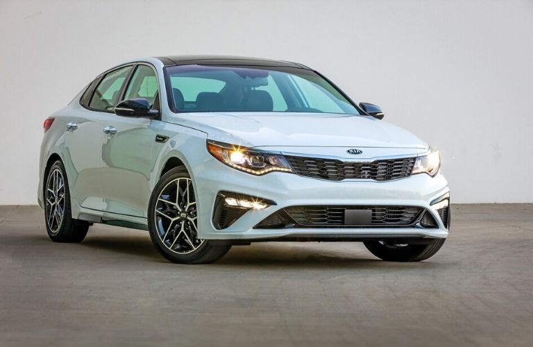 2020 Kia Optima from exterior front