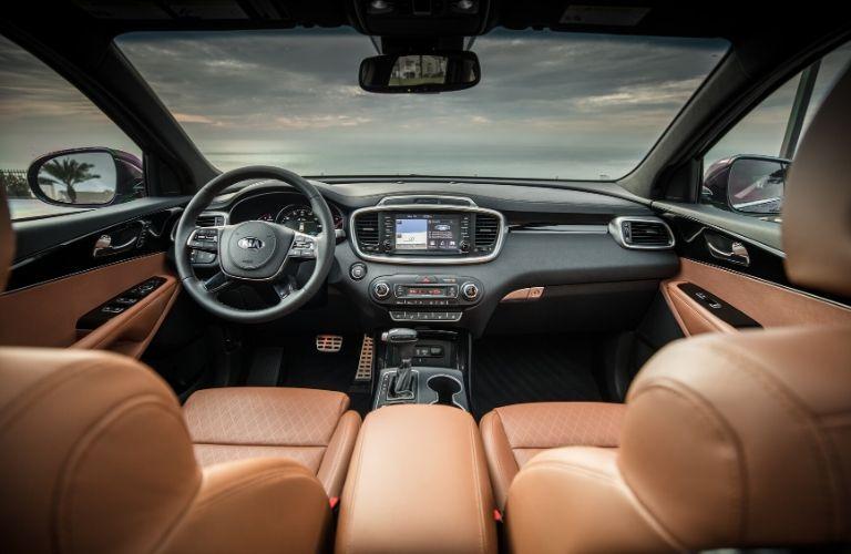 2020 Kia Sorento front seat and dash