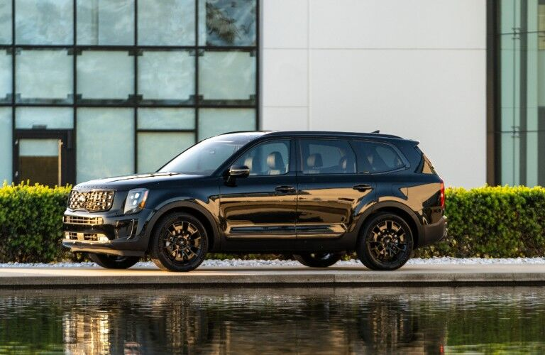 2021 Kia Telluride from exterior driver's side