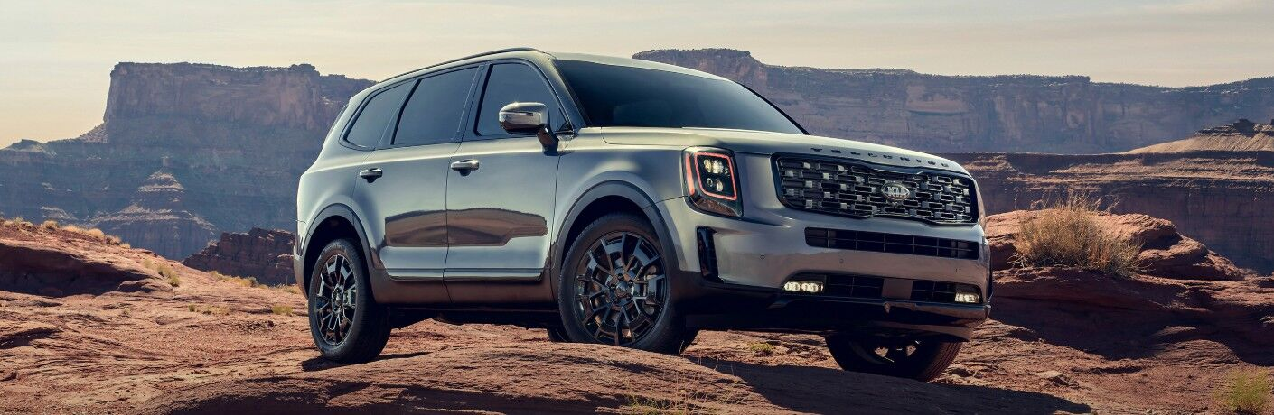 2021 Kia Telluride from front
