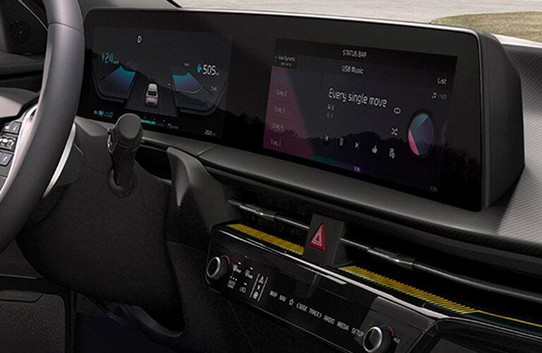 2022 Kia EV6 display