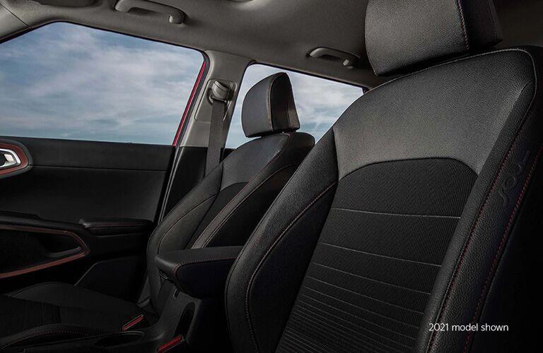 2021 Kia Soul interior seats view