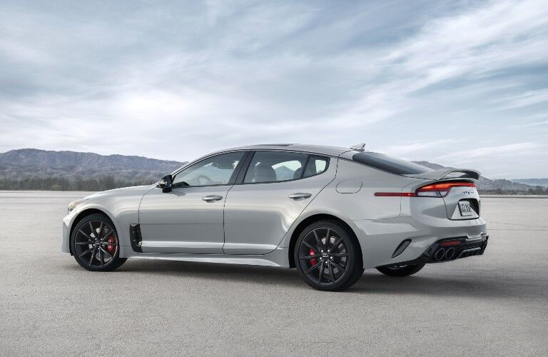 2022 Kia Stinger from rear drivers side