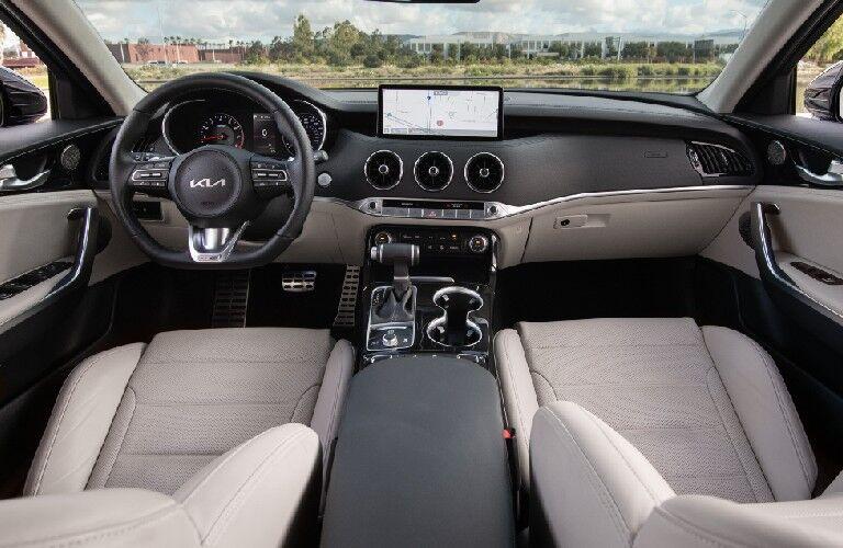 Interior front dash 2022 Kia Stinger