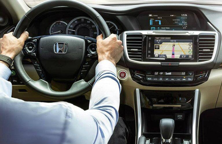 2016 Honda Accord with navigation
