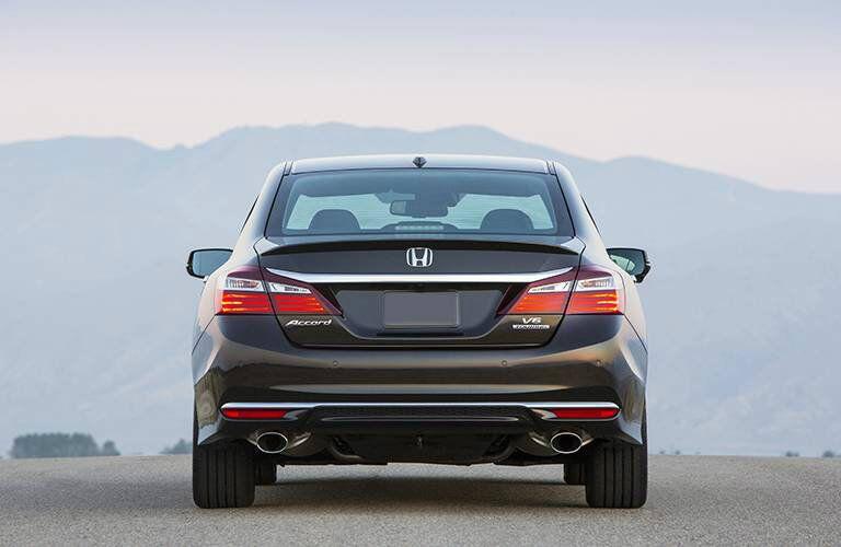 2016 Honda Accord tailgate