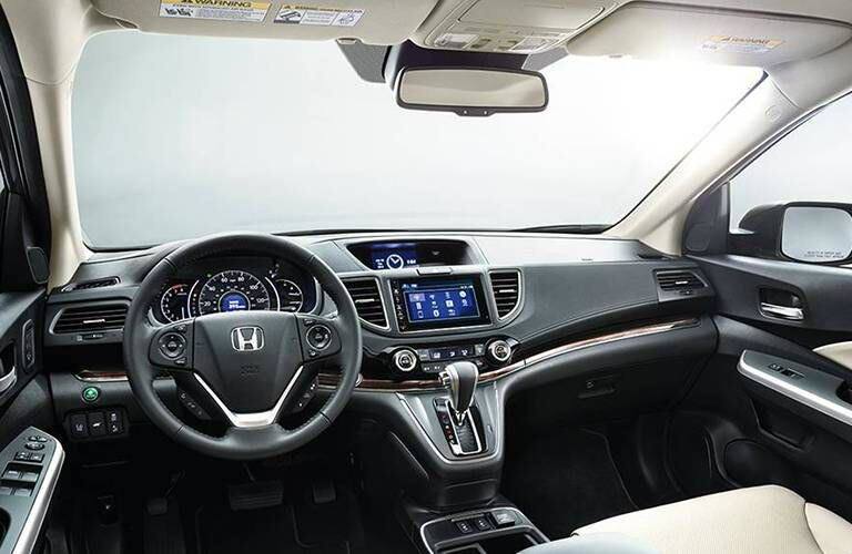 2016 Honda CR-V interior space