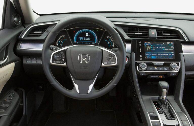 2016 Honda Civic EX dashboard features