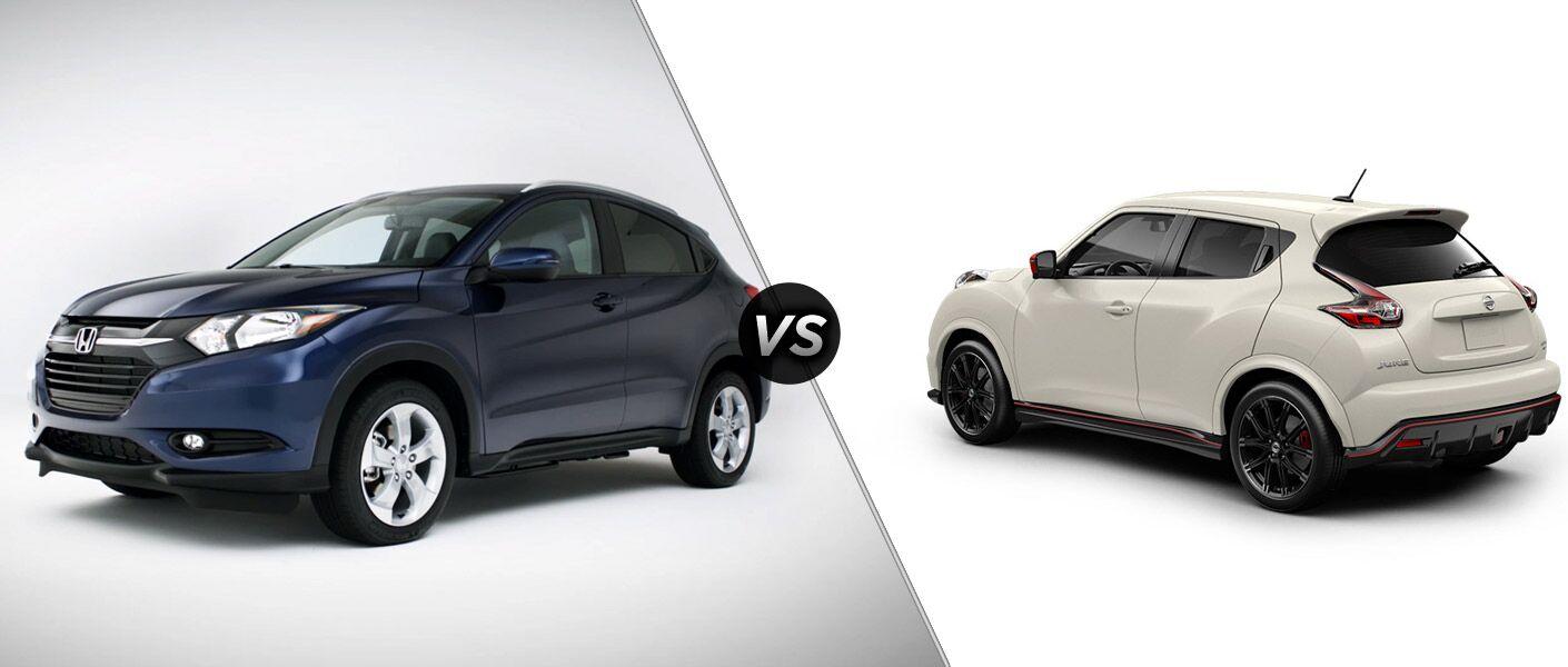 2016 Honda HR-V EX-L vs 2016 Nissan Juke SL