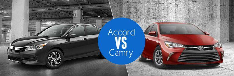 2016 Honda Accord vs 2016 Toyota Camry