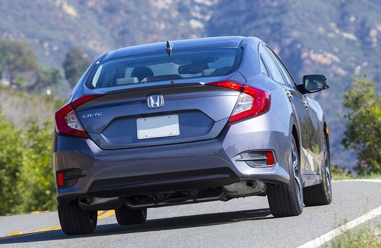 2016 Honda Civic EX-T Redesigned Rear End