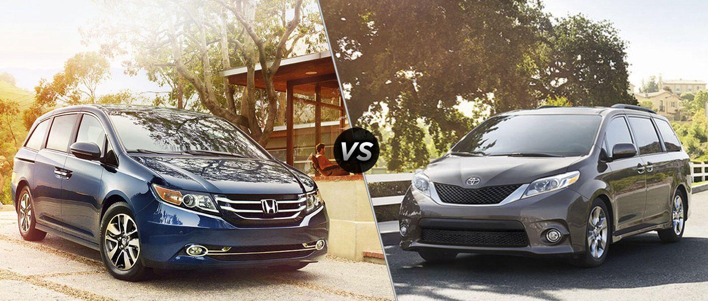 2016 Honda Odyssey Touring vs 2016 Toyota Sienna Limited
