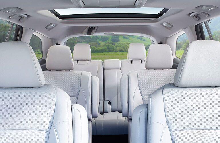 2016 Honda Pilot passenger space