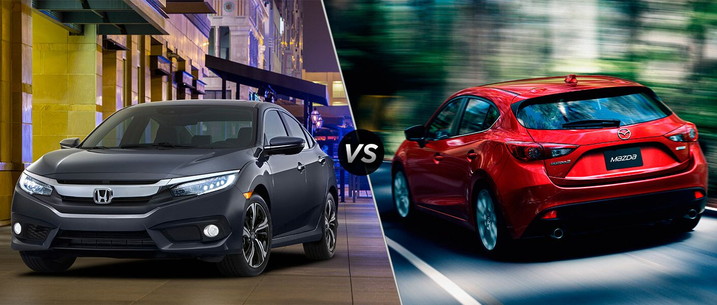 2016 Honda Civic Touring vs 2016 Mazda3 s Grand Touring