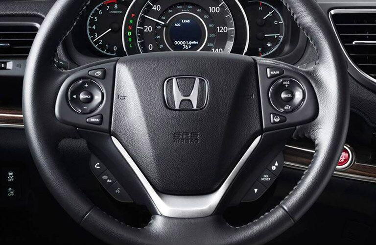 2016 Honda CR-V driver cabin