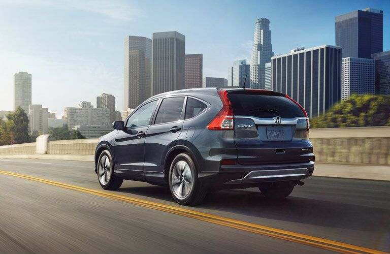 2016 Honda CR-V Touring Rear View