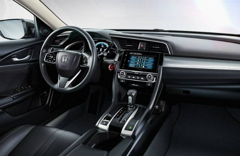 2016 Honda Civic sedan driver cabin
