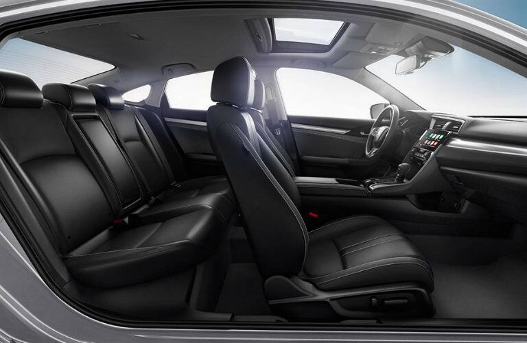 2016 Honda Civic sedan passenger space