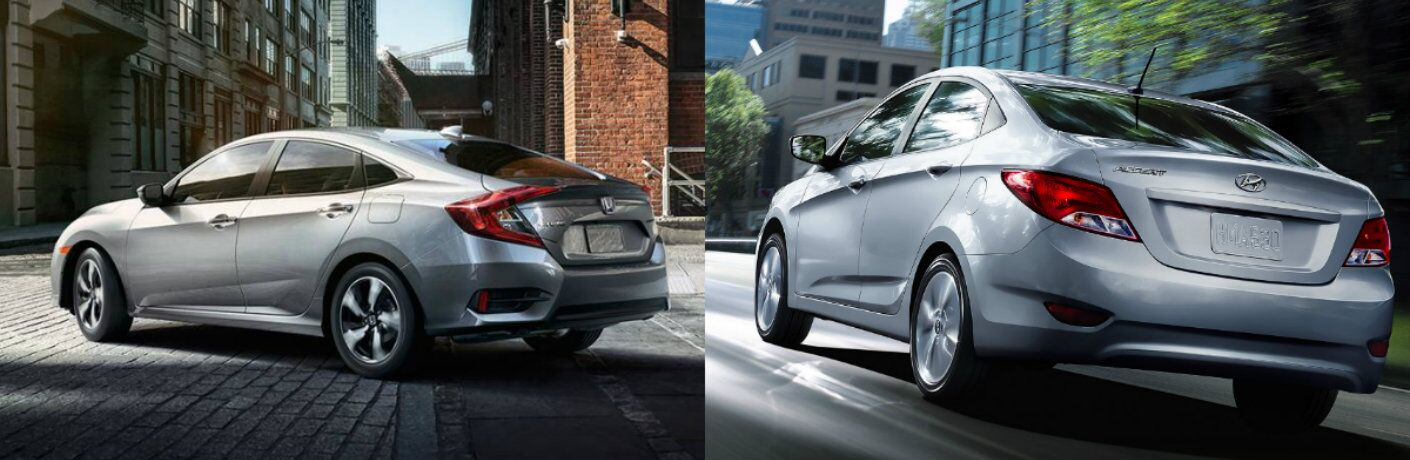 2016 honda civic vs 2016 hyundai accent. Black Bedroom Furniture Sets. Home Design Ideas