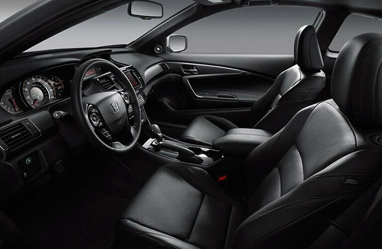 2017 Honda Accord Touring Leather Interior Seats