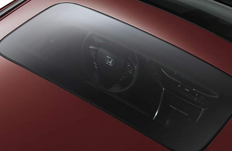 Sunroof on 2017 Honda Accord