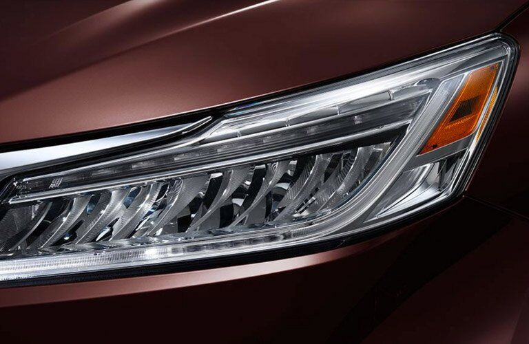 2017 honda accord ex-l headlights led