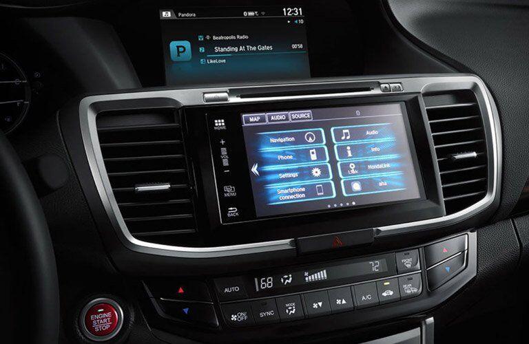 2017 honda accord ex-l touchscreen