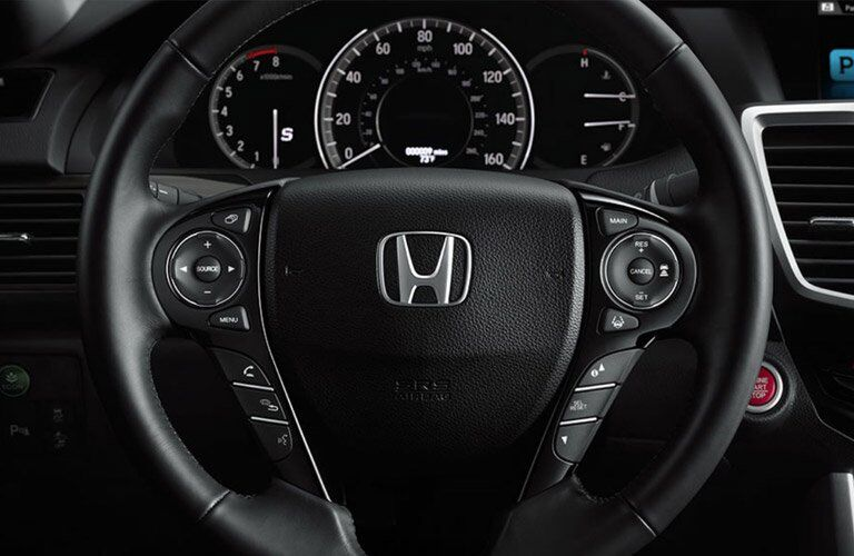 2017 honda accord ex-l leather steering wheel