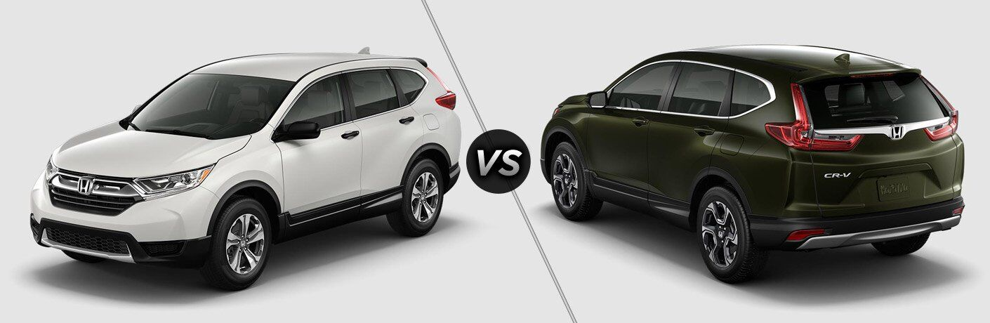 2017 honda cr v lx vs 2017 honda cr v ex for Honda crv 2017 vs 2018