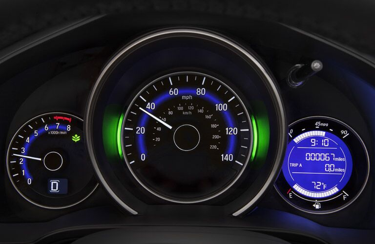 2017 Honda Fit instrument cluster