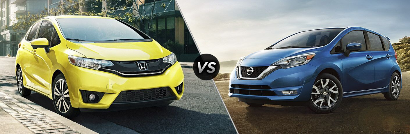 2017 Honda Fit EX-L vs 2017 Nissan Versa Note SL